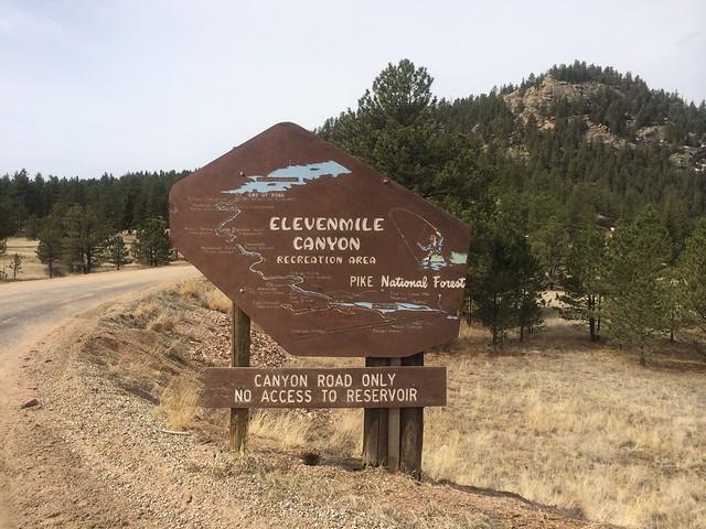 C A B Z on Lake George Colorado Weather