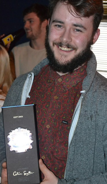 Jake Murphy, winner: The Chivas Masters, Manchester heat
