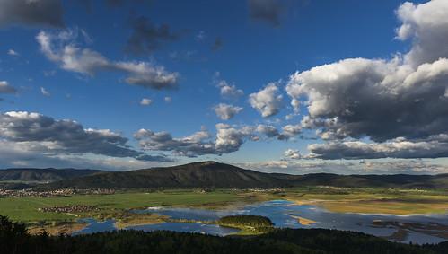 clouds landscape geotagged evening spring slovenia slovenija večer slivnica pomlad cerknicalake oblaki cerkniškojezero