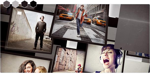 Custom-Color Photo Flip Slideshow 2