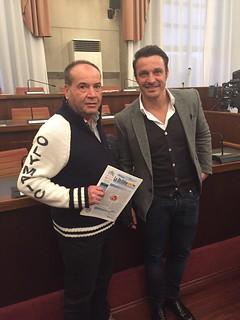 Sandro Eleuterio e Massimo Oddo