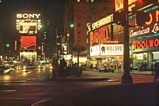 New York 1971 - Times Square