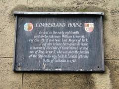 Photo of William Cornwell black plaque