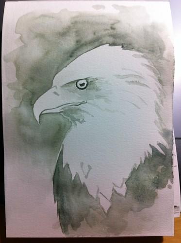 Bald Eagle WIP 1 30 mins