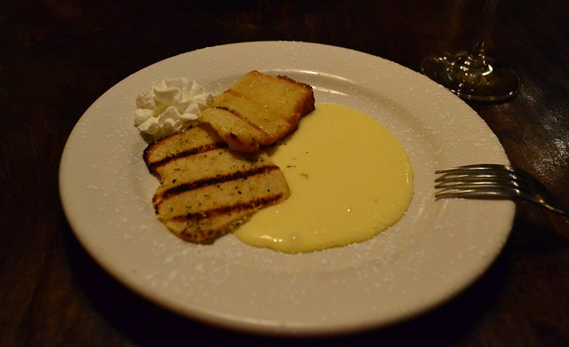 Grilled Pound Cake with Lemon Curd