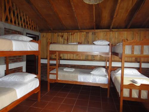 Shared dormitory room in El Cafetal Cabin, La Bastilla Ecolodge
