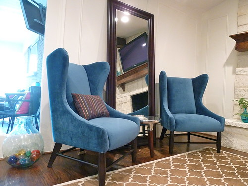 New West Elm Wing Chairs