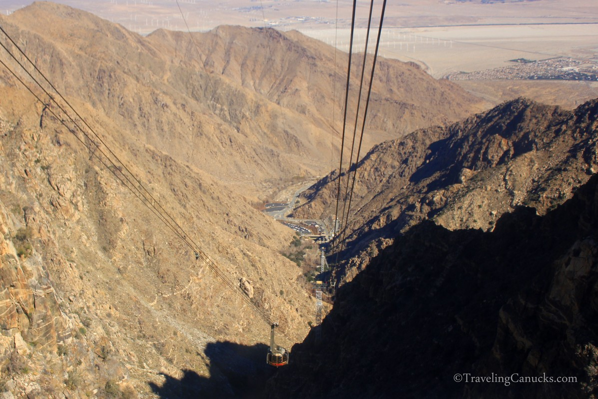 Chino Canyon views from Palm Springs Aerial Tram