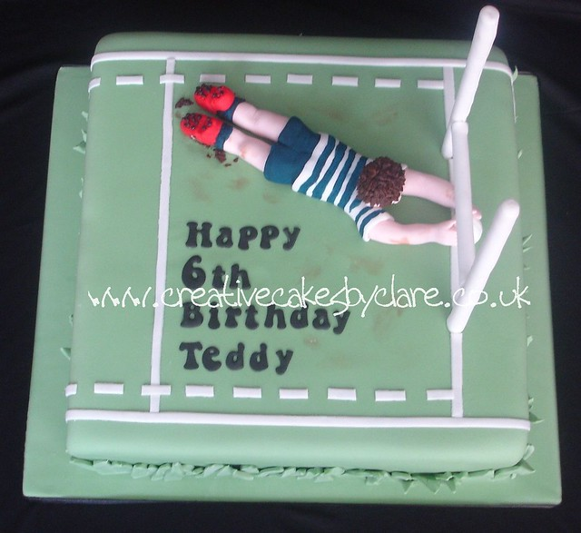 Cake Decorating Course Rugby : Rugby Cake Cake Ideas and Designs