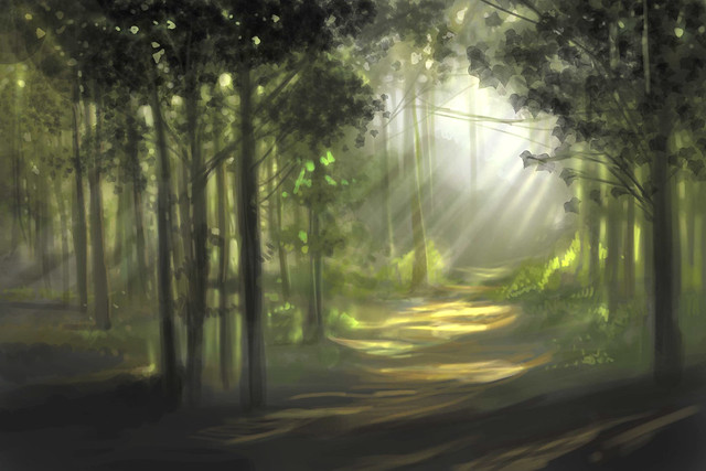 enchanted-forest-speedpaint