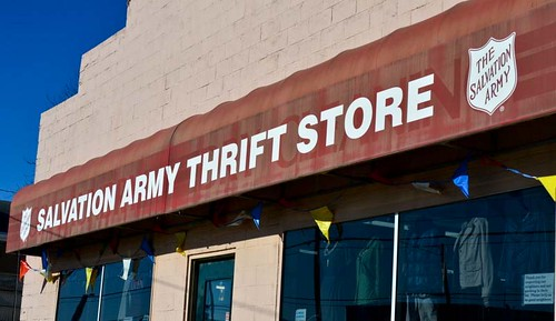 Hit Thrift Shops and Secondhand Shops in Upscale Neighborhoods (86/365)