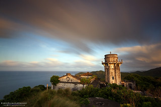 Image of  Cape Engaño Lighthouse. sunset lighthouse ruins palaui santaanacagayan capeengaño palauiisland rawenbalmaña
