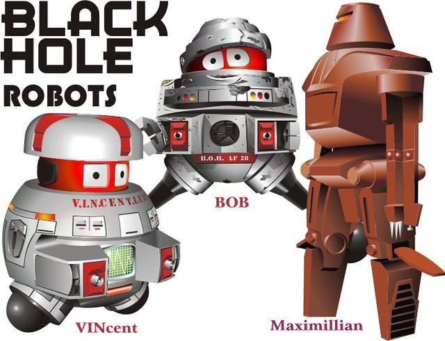 black hole vincent robot - photo #7
