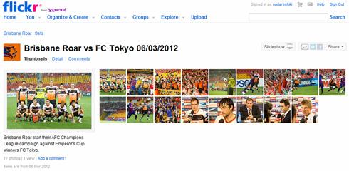 Brisbane Roar vs FC Tokyo 06/03/2012
