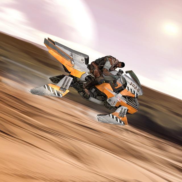 Starhawk: Sidewinder Jetbike