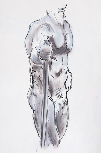 Life Drawing - 03-07-12-5