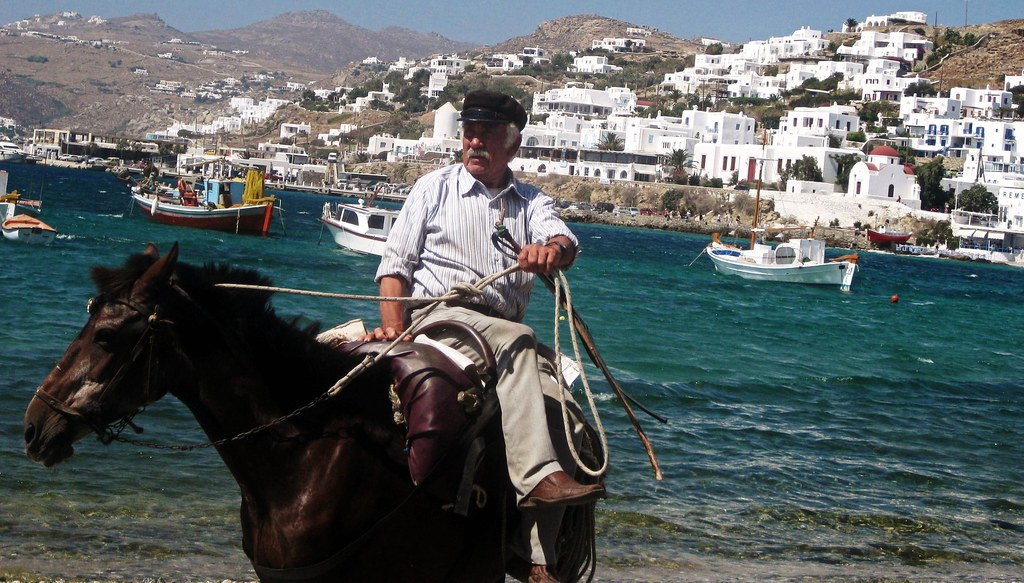 Mykonos Giddy-Up! (Revisiting the Memory Bank / Greek Archives)