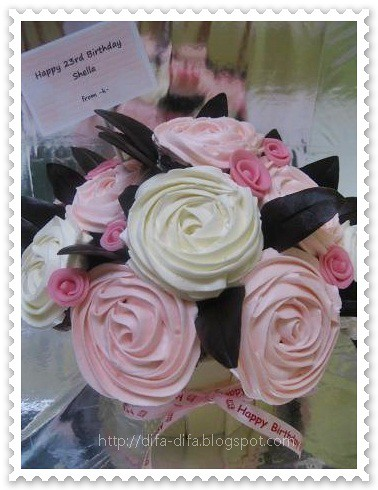 Cupcake Bouquet for Shella by DiFa Cakes