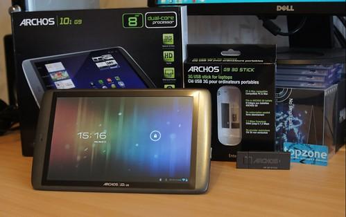 ARCHOS 101 G9 praktiška 10.1 colių Android ICS planšetė
