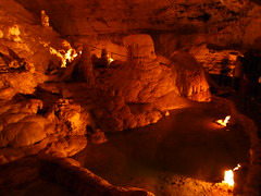 pit cave(0.0), caving(0.0), formation(1.0), lava tube(1.0), cave(1.0),