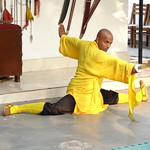 Mon, 12/03/2012 - 16:13 - Shifu Shi Yan Du (Kanishka Sharma) is the Official Buddhist Name (Darma Name) given by Shaolin Temple under the Guidance of Abbot Shi Yongxin, is a Shaolin Warrior from Shaolin Temple, China. He is the First Indian  Shaolin WarriorTo be Trained at Shaolin Temple Under the Guidance of Shifu Shi Heng Jun who introduced him to legendary Grand Master Suxi and his kungfu Brother Shifu Shi Deyang and currently is head of Shaolin India. Under Shifu Shi Heng Jun Guidance Shifu kanishka got trained in Shaolin jiben gong ShibaShi, Shaolin Tai Tzu Chang quan, Shaolin Wu bu Chuan,Shaolin Qi Xing Chua, Shaolin Xiao Hong Chuan, Shaolin Luohan Shi Ba shou, Shaolin Luohan Duanda, Shaolin Luohan chuan, Shaolin Wuxing Bafa (5 animal 8 movement), Shaolin Rumen chuan, Shaolin Kung Chuan, Shaolin Yin Shou Gun, Shaolin 9 Section whip Chain, Shaolin Broadsword (Dao), Shaolin Jian( straight sword),Shaolin Fun Mo Gun, Shaolin XinYi Quan , Shaolin Ba Duan jin and Shaolin yi jin jing Qi Gong. Shifu Kanishka also studied Shaolin San Sa liu Duanda( 36 short fighting combination of Shaolin kungfu) and Shaolin 36 Yin Chin-Na( locking system) In the year 2005 Shifu Shi Hengjun Travelled to France to spread the knowledge of Shaolin Chan Wu. Since then Shifu kanishka became disciple of Legendary Grand Master Shi Suyi (Liang Yiquan) who Deputed his Disciple Shifu Shi Yanfang who trained him in Shaolin Mehiua Chuan, Shaolin Pao Chua, Shaolin Hu chuan( Tiger fist), Shaolin Eagle Fist, Shaolin Tanglang Quan, Shaolin Kan jia chuan, Shaolin Yangjia Shi San Qiang( 13 Spear), Shaolin Moon Spade, Tongbei Chuan, Traditional Combat like Shaolin Tang fang ba, Hubpuba and introduced him to highest level of Shaolin Fighting called Xin Yi Ba. Shifu Shi Yanfang also trained Shifu kanishka intensly in Shaolin Sanshou( Free Fighting) specially in Shao Jiao( wrestling) and Shuai Fa( Takedowns) In the year 2008 Shifu Kanishka got the honor to train with Da Shifu Shi Yanzi ( a famous monk who has spent 15 years in Shaolin Temple and was known as the Iron bull and has achieved the highest level of shaolin skill called Xin Yi Ba.) Under the guidance of Da Shifu Shi Yanzi Shifu Kanishka Studied Xiao hong Quan a version which included Xin Yi Ba move called Pi Tui Xie Xing which is one of the most powerful move for Combat. Once mastered this move alone can counter 1000 movements or kicks and punches. Shifu Kanishka during the year 2006 under the Guidance of Grand master Wang studied the Southern Shaolin 18 Luohan System which was very Secretly Taught at that time and was made famous by lengendary Fighter called Hongxi Guan of Southern Shaolin Temple www.shaolinindia.com