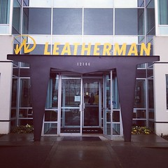 Leatherman Factory Tour Today!