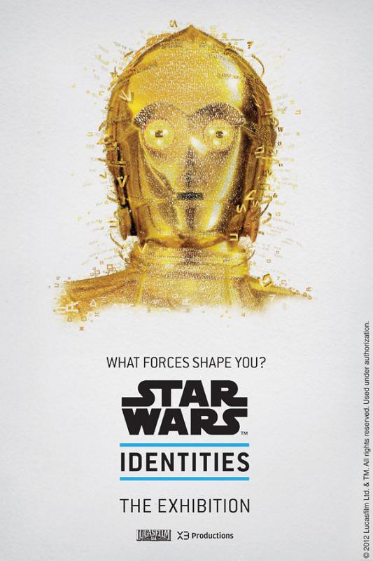 Star Wars Identities - Posters c3po