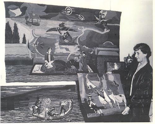 Vena Tipton w Hooked Tapestries 1