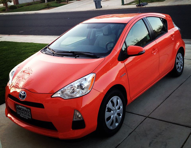 VWVortex com - 2012 Prius c Acquired (pics and sweet mods