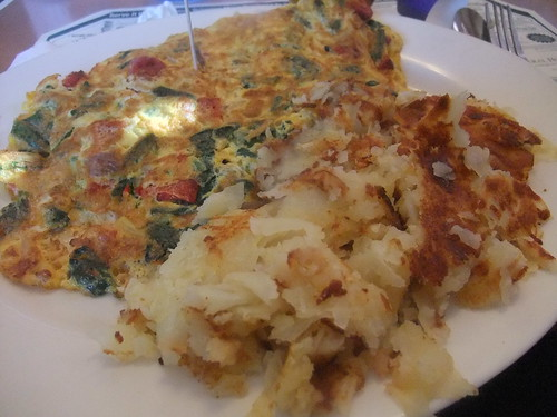 Mediterranean Omelette and Home Fries