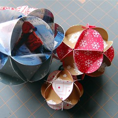 paper ball ornament