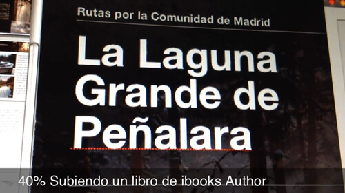 40% Subiendo un libro de iBooks Author
