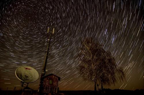 Star trails HDR