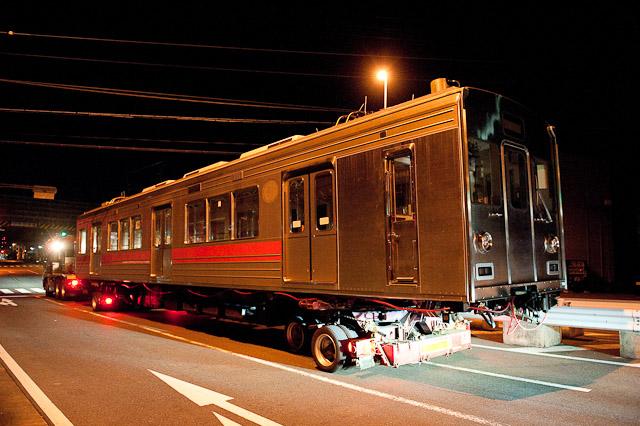 伊賀鉄道200系205編成 東急電鉄1000系 デハ1356・デハ1306陸送