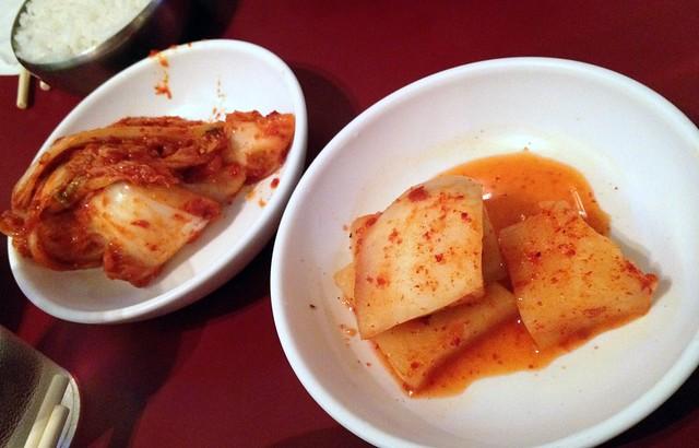 Kim Chi and Pickled Raddish