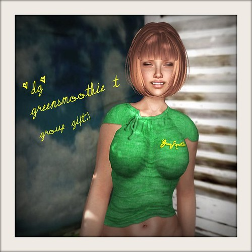 *dg* green smoothie T by ruby69kill