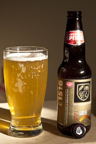Review: Okanagan Spring 1516 Bavarian Lager by Cody La Bière