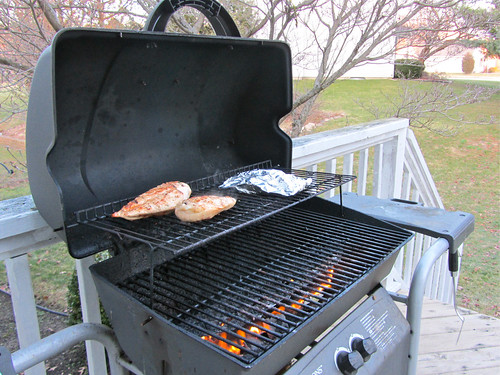 Grilling in February