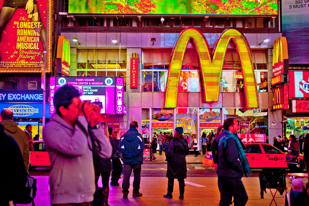 Times Square | Gregory McLellan | Flickr