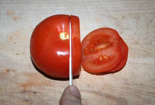 41 - Tomaten schneiden / Cut tomato