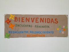 AFICHE BIENVENIDAS AL ENCUENTRO