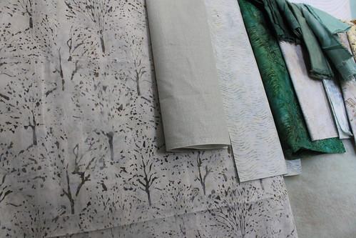 Tree Batik fabric