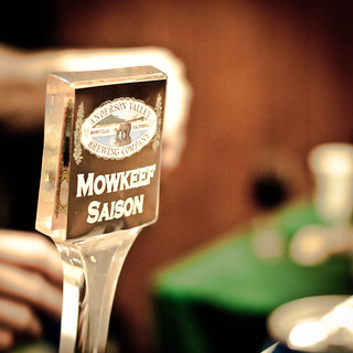 Mowkeef Saison from Anderson Valley Bewing