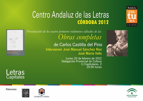 Presentación Libro Carlos Castilla.