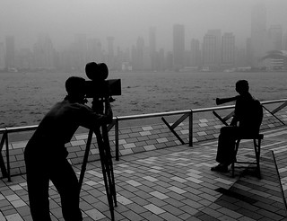 Filming Hong Kong