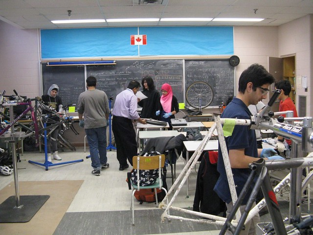 Wed, 02/15/2012 - 14:37 - Bike mechanics class