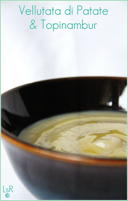 vellutata di patate e topinambur