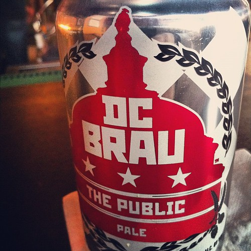 Our local brew - DC Brau.