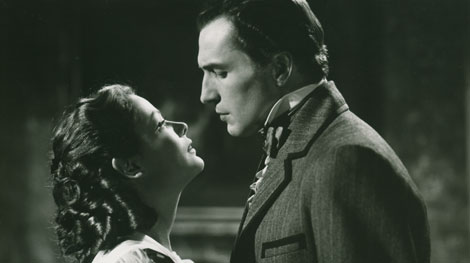 Gene Tierney and Vincent Price in Dragonwyck