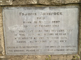 Francis Ledwidge, Slane Bridge